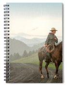 Braving The Rain Spiral Notebook