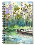 Bray Sur Seine 01 Spiral Notebook