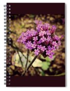 Brazilian Verbena Spiral Notebook