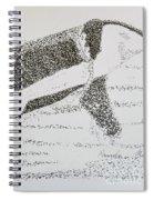 Breaching Orca Spiral Notebook