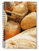 Bread Spiral Notebook