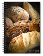 Bread Loaves Spiral Notebook