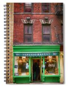Bread Store New York City Spiral Notebook