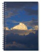 Break In The Clouds Spiral Notebook