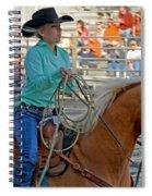 Breakaway Roping Gal Spiral Notebook