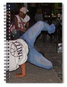 Breakdancer Spiral Notebook