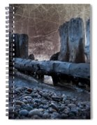 Breakers At Whitefish Point Michigan Spiral Notebook