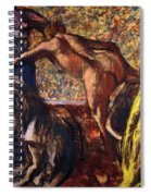 Breakfast After The Bath Le Petit Dejeuner Apres Le Bain Spiral Notebook