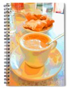 Breakfast At Cafe Du Monde Spiral Notebook