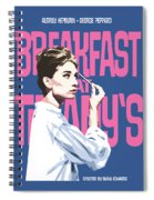 Breakfast At Tiffany's Spiral Notebook