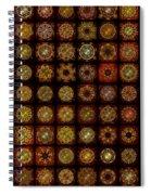 Breakfast Bagels Dingbat Quilt Spiral Notebook