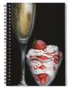 Breakfast In Bed Spiral Notebook