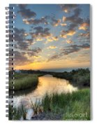 Breaking Dawn Along The Bayou Spiral Notebook