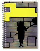 Breaking Down Barriers Spiral Notebook