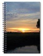 Breaking Morning Spiral Notebook