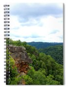 Breaks Interstate Park Virginia Kentucky Rock Valley View Overlook Spiral Notebook