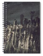 Breakwater In Jersey Spiral Notebook