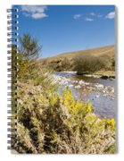 Breamish Valley In Spring Spiral Notebook