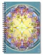 Breath Of Life Mandala Spiral Notebook
