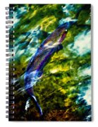 Breathing Water Spiral Notebook