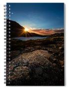 Breathless Sunrise II Spiral Notebook