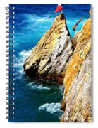 Breathtaking Free Fall Spiral Notebook