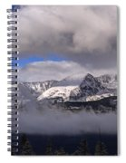 Breckenridge And Clouds  Spiral Notebook