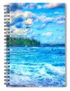 Breezy Hawaii Morning Spiral Notebook