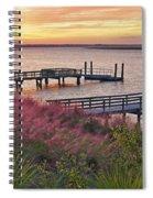 Breezy Pampas Grass Spiral Notebook