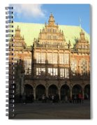 Bremen Town Hall Germany Spiral Notebook