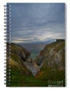 Bretagne Cliffs Spiral Notebook