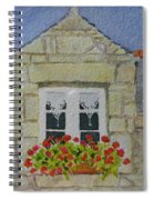 Bretagne Window Spiral Notebook