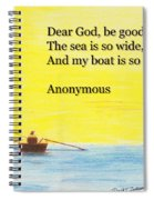 Breton Fisherman's Prayer Spiral Notebook