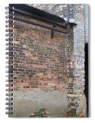 Brick Building Stop Spiral Notebook