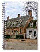 Brick House Tavern In Williamsburg Spiral Notebook