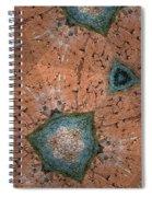 Brick Kaleidoscope Phone Case Spiral Notebook