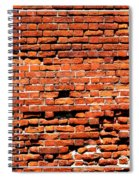 Brick Scarp Walls And Casement Gallery Spiral Notebook