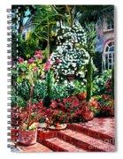 Brick Steps Spiral Notebook