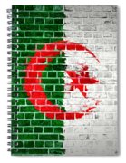 Brick Wall Algeria Spiral Notebook