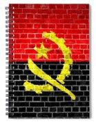 Brick Wall Angola Spiral Notebook