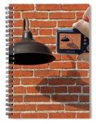 Brick Wall Snap Shot Spiral Notebook