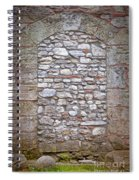 Bricked Up Doorway Spiral Notebook
