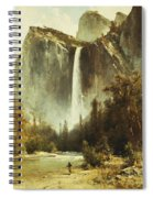 Bridal Falls Spiral Notebook