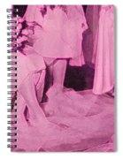 Bridal Pink By Jrr Spiral Notebook