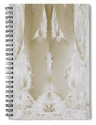 Bridal Satin Spiral Notebook
