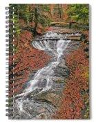 Bridal Veil Waterfall Spiral Notebook