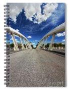 Bridge Arch Spiral Notebook