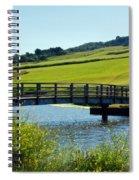 Bridge At Charmouth Spiral Notebook