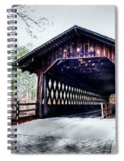Bridge At Stone Mountain Spiral Notebook