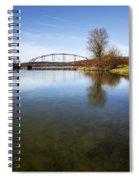 Bridge At Upper Lisle Spiral Notebook
